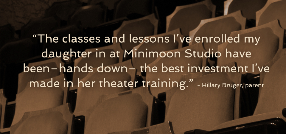 Minimoon Studios Testimonial Quote by Hillary Bruger